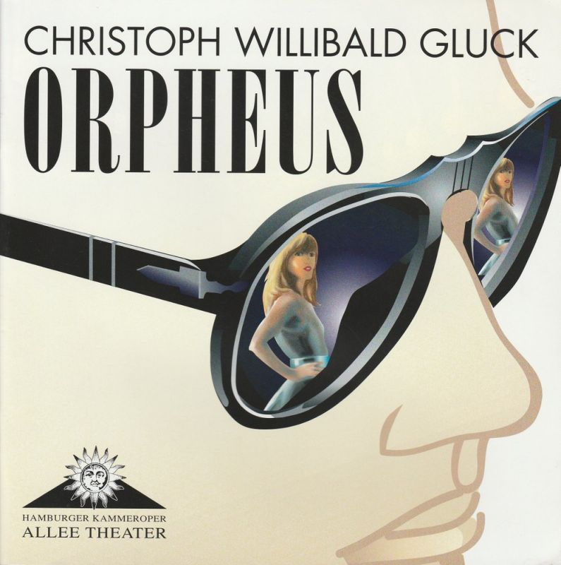 Allee Theater, Hamburger Kammeroper, Uwe Deeken, Jasmin Deeken, Barbara Hass Programmheft ORPHEUS. Oper von Christoph Willibald Gluck. Premiere 10. Februar 2008