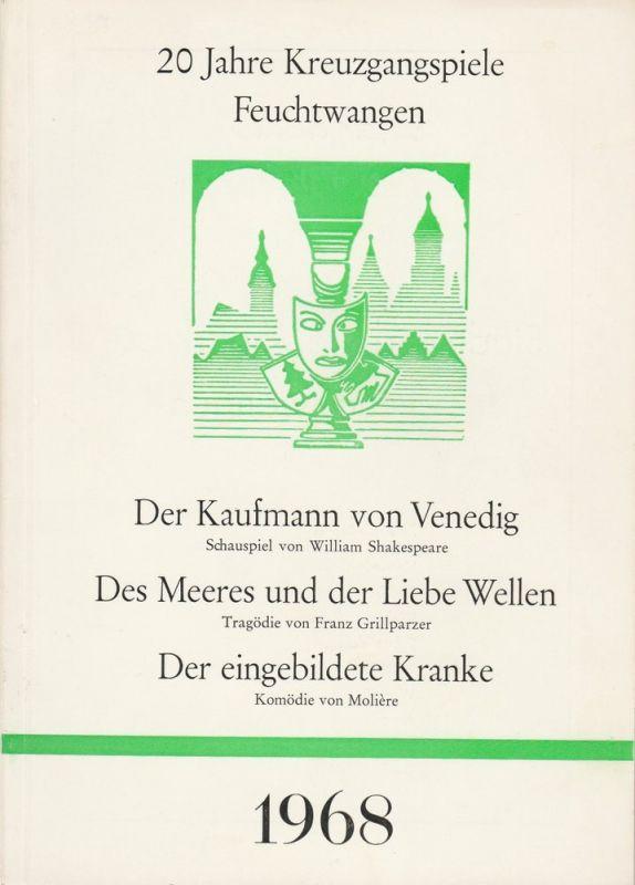 Kreuzgangfestspiele Feuchtwangen, Paul Keim Programmheft 20 Jahre Kreuzgangfestspiele Feuchtwangen 1968