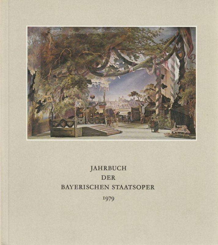 Klaus Schultz Jahrbuch II der Bayerischen Staatsoper 1979