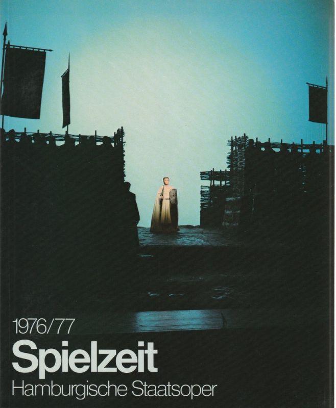 Intendanz der Hamburgischen Staatsoper, August Everding, Götz Friedrich, Michael Leinert, Spielzeit Jahrbuch der Hamburgischen Staatsoper 1976 / 77