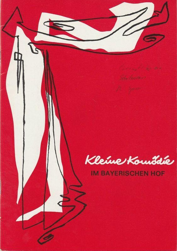 Kleine Komödie im Bayerischen Hof, Gabriele Petersen Programmheft SO EIN SCHLAWINER. Komödie von Pierre Chesnot Heft 96 Ausgabe 1 Juli / August 1989