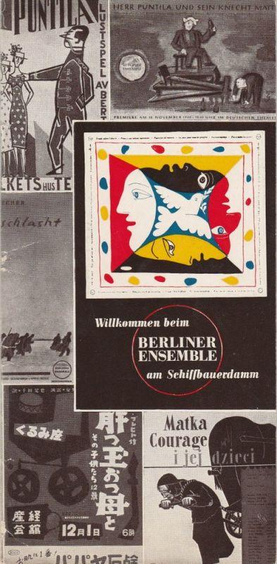 Berliner Ensemble, Palitzsch, Mahn Willkommen beim Berliner Ensemble am Schiffbauerdamm