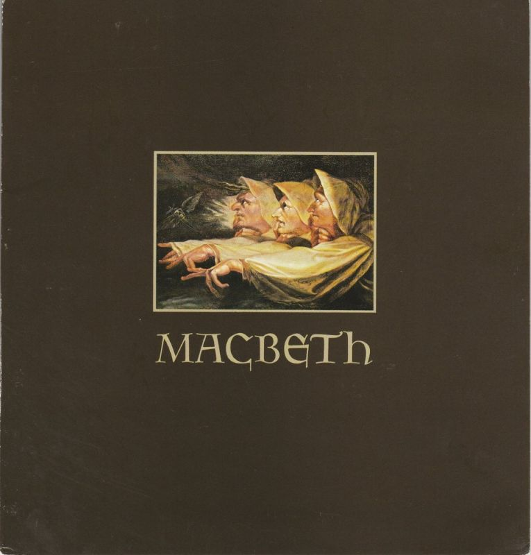 Hamburgische Staatsoper, Christoph von Dohnanyi, Peter Dannenberg Programmheft Giuseppe Verdi MACBETH Premiere 10. Februar 1980