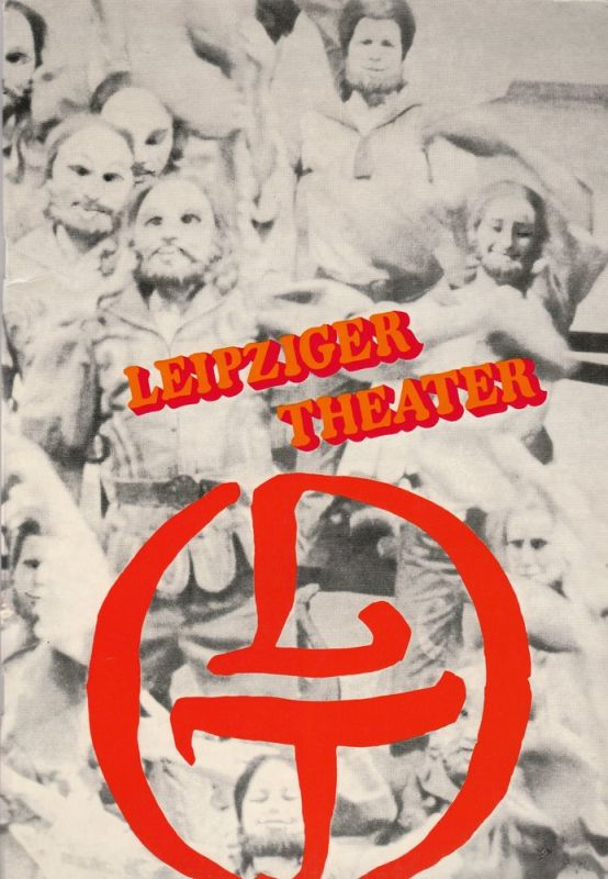 Städtische Theater Leipzig, Karl Kayser, Christoph Hamm, Martina Aurich, Isolde Hamm Programmheft Leipziger Theater Vorschau 73 74