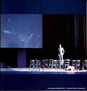Hamburgische Staatsoper, Seipt Angelus Programmheft zum Ballett Sechste Sinfonie von Gustav Mahler. Premiere 25. Mai 1984