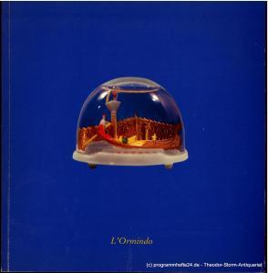 Hamburgische Staatsoper, Dannenberg Peter, Seipt Angelus Programmheft zur Premiere L 'Ormindo am 28. April 1984