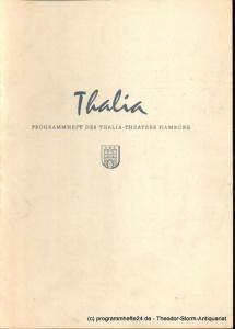 Dambek Albert, Kayser Conrad, Maertens Willy Thalia. 112. Spielzeit 1955 / 56 Heft 4 Programmheft des Thalia-Theaters Hamburg