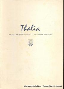 Dambek Albert, Kayser Conrad, Maertens Willy Thalia. 112. Spielzeit 1955 / 56 Heft 1 Programmheft des Thalia-Theaters Hamburg