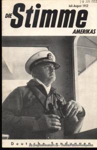 Die Stimme Amerikas Programmheft Die Stimme Amerikas. Deutsche Sendungen Januar-Februar 1952