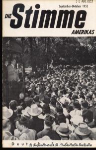 Die Stimme Amerikas Programmheft Die Stimme Amerikas. Deutsche Sendungen November-Dezember 1952