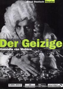 Ernst Deutsch Theater, Isabella Vertes-Schütter, Wolfgang Borchert Programmheft Der Geizige. Komödie von Moliere. Premiere 26. August 1999. Spielzeit 1999 / 2000