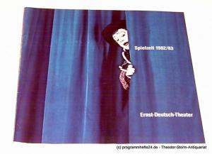 Ernst-Deutsch-Theater, Friedrich Schütter, Wolfgang Borchert, Hans-Peter Kurr Programmheft Ernst-Deutsch-Theater 1982 / 83
