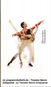 Bayerisches Staatsballett, Peter Jonas, Zubin Metha, Ivan Liska, Wolfgang Oberender Programmheft zu Romeo und Julia. Ballett in drei Akten nach William Shakespeare. 1. Auflage Oktober 2004