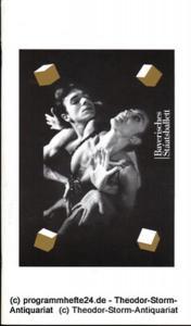 Bayerisches Staatsballett, Ivan Liska, Bettina Wagner-Bergelt Programmheft zu den Balletten von George Balanchine, William Forsythe, Jose Limon und Jean Grand-Maitre. Apollo - Chaconne - Artifact II - The Unsung - Ecclesia. 2. Dezember 1998