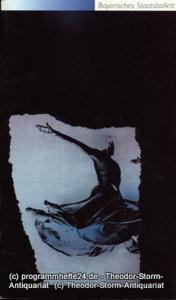 Bayerisches Staatsballett, Konstanze Vernon, Bettina Wagner-Bergelt Programmheft zur Ballettwoche Mai 1992. Sinfonie in C - Before Nightfall - Svadebka. Premiere 16. Mai 1992