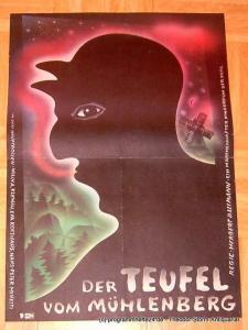 DEFA Filmplakat Der Teufel vom Mühlenberg. Ein märchenhafter Kinderfilm der DEFA