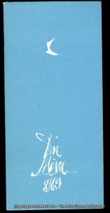Die Möwe, Zentraler Klub der Gewerkschaft Kunst, Wolf Kaiser, Raimund Wölbing Programmheft Die Möwe 8 / 69
