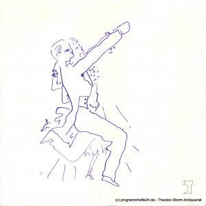 Bremer Theater, Theater der Freien Hansestadt Bremen, Tobias Richter, Ingo Wagner Programmheft KISS ME, KATE. Premiere 6. November 1988. Spielzeit 1988 / 89 Programmheft 8