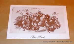 Staatsschauspiel Dresden, Gerhard Wolfram, Ute Baum, Ekkehard Walter Programmheft Das Jahrmarktsfest zu Plundersweilern von Peter Hacks nach J. W. von Goethe