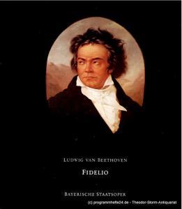 Bayerische Staatsoper, Klaus Schultz, Krista Thiele, Udo Grefe Programmheft zu FIDELIO von Ludwig van Beethoven. Premiere 30. Januar 1978. Spielzeit 1977 / 78