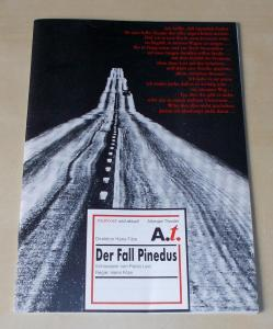 Altonaer Theater, Hans Fitze, Thomas Müller Programmheft Der Fall Pinedus. Schauspiel von Paolo Levi. Programmheft 8 der Spielzeit 1991 / 1992