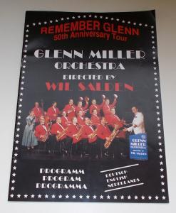 Mückl & Salden GmbH Programmheft Glenn Miller Orchestra Directed by Wil Salden. Remember Glenn 50th. Anniversary Tour
