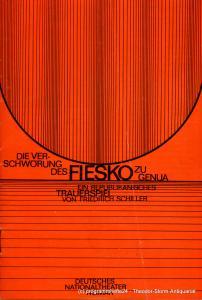 Staatsschauspiel Dresden,Ute Baum, Ekkehard Walter Programmheft Iphigenie auf Tauris. Premiere am 30. August 1981