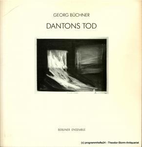Berliner Ensemble, Salzburger Festspiele, Wolfgang Wiens Programmheft DANTONS TOD von Georg Büchner