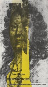 Bayerisches Staatsschauspiel, Günther Beelitz, Günther Erken, Marietta Piepenbrock, Wilfried Hösl ( Aufführungsfotos ) Programmheft Britannicus. Tragödie von Jean Racine. Heft 21 Spielzeit 1987 / 88