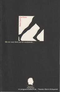 Bayerisches Staatsschauspiel, Residenztheater, Eberhard Witt, Henrik Bien, Anne Wack, Erika Fernschild ( Fotos ) Programmheft Eine Mutter von Maxim Gorki. Heft Nr. 26 Spielzeit 1994 / 95
