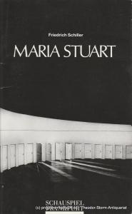 Schauspiel Frankfurt, Dirk H. Fröse Programmheft Maria Stuart. Trauerspiel von Friedrich Schiller. Premiere 23. Februar 1991 im Bockenheimer Depot Spielzeit 1990 / 91 Heft Nr. 13
