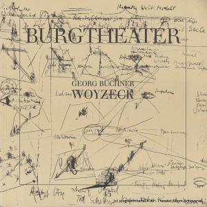 Burgtheater Wien Programmheft WOYZECK von Georg Büchner. Premiere 22. April 1989 Programmbuch Nr. 45