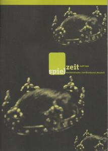 Bayerisches Staatsschauspiel, Eberhard Witt, Ingrid Trobitz Programmheft spielzeit 1998 / 1999 Residenztheater, Cuvilliestheater, Marstall