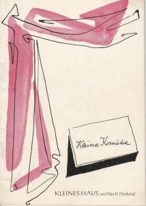 Theater Kleine Bühne am Max II. Denkmal, Gerhard Metzner Programmheft Tu das nicht, Angelika ! Heft 1 Ausgabe 2 Spielzeit 1961 / 62 Sept. Okt. 1961