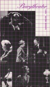 Österreichischer Bundestheaterverband, Burgtheater, Achim Benning, Erika Zabrsa, Lothar Knessl Programmheft Burgtheater Saison 1983 / 84 Planungen Heft 1