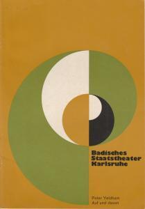 Badisches Staatstheater Karlsruhe, Hans-Georg Rudolph, Wilhelm Kappler, Otto König Programmheft Erstaufführung Auf und davon. Premiere 1. Juni 1974 Spielzeit 1973 / 74 Heft 19