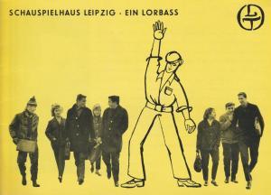 Schauspielhaus Leipzig, Städtische Theater Leipzih, Karl Kayser, Hans Michael Richter, Hanne Röpke, Isolde Hamm Programmheft Horst Salomon: EIN LORBASS Spielzeit 1968 / 69 Heft 20