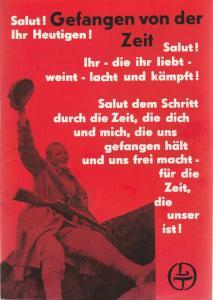 Leipziger Theater, Karl Kayser, Hans Michael Richter, Walter Bankel Programmheft Gefangen von der Zeit Spielzeit 1970 / 71 Heft 21