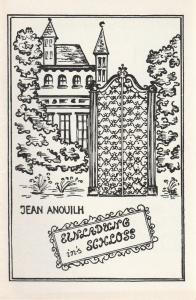 Schwäbisches Landesschauspiel, Bernd Hellmann, Ulrich Mannes Programmheft Einladung ins Schloß Premiere 16. September 1970 Spielzeit 1970 / 71 Heft 1