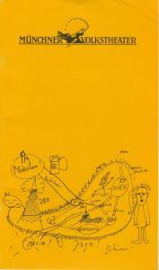 Münchner Volkstheater, Ruth Drexel, Regine Friedrich, Kai Mickley Programmheft Wolfgang Bauer: CHANGE Premiere 15. Februar 1989 Spielzeit 1988 / 89 Heft 6