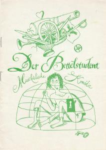 Leipziger Theater, Karl Kayser, Christoph Hamm, Eginhard Röhlig, Volker Wendt Programmheft Der Bettelstudent. Operette von Carl Millöcker Spielzeit 1975 - 76 Heft 25
