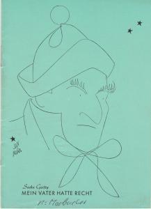 Renaissance-Theater Programmheft Mein Vater hatte Recht. Spielzeit 1961 / 62