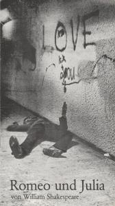 Städtische Bühnen Augsburg, Susanne Berger, Jost Miehlbradt, H. Fürtinger Programmheft William Shakespeare Romeo und Julia Premiere 23. September 1978 Spielzeit 1978 / 79 Heft 1