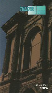 Städtische Bühnen Augsburg, Peter Baumgardt, Lenz Prütting Programmheft NORA Schauspiel von Henrik Ibsen. Premiere 19. Dezember 1992 Komödie Spielzeit 1992 / 83 Heft 10