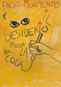 FALSO MOVIMENTO Programmheft Il desiderio preso per la coda da Picasso. Antonio Neiwiller, Andrea Renzi in uno spettacolo di Mario Martone