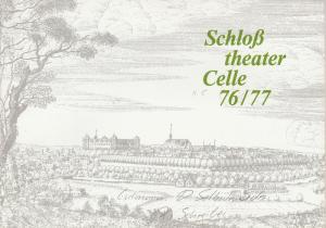 Schloßtheater Celle, Eberhard Johow, Martin Dreier Programmheft Der Selbstmörder. Satirische Komödie von Nikolai Erdmann. Spielzeit 1976 / 77 Heft 5