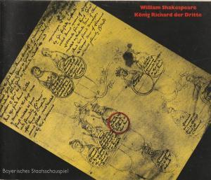 Bayerisches Staatsschauspiel, Kurt Meisel, Jörg-Dieter Haas, Otto König Programmheft William Shakespeare: König Richard der Dritte Premiere 7. Juni 1980