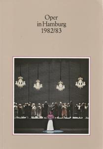 Peter Dannenberg, Angelus Seipt, Hamburgische Staatsoper Oper in Hamburg 1982 / 83 Jahrbuch X der Hamburgischen Staatsoper für die Spielzeit 1982 / 83