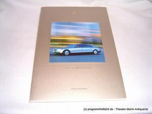 DaimlerChrysler Communications Maybach - Das Kompendium. Presse-Information. 21. Oktober 2002