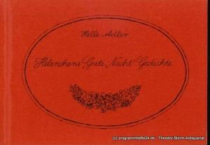 Adler Helle Helenchens Gute Nacht Gedichte